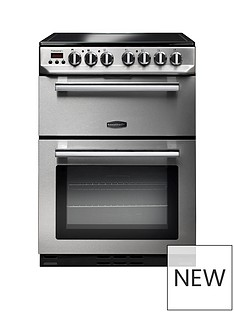 Rangemaster PROP60ECSS Professional 60cmWide Electric Cooker - Stainless Steel