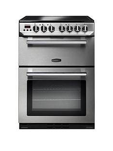 Rangemaster  PROP60ECSS Professional 60cm Wide Electric Cooker with Ceramic Hob - Stainless Steel