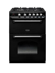 Rangemaster  CLAS60NGFBL Classic 60cm Wide Gas Cooker - Black