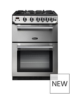 Rangemaster PROP60NGFSS Professional 60cmWide Gas Cooker - Stainless Steel