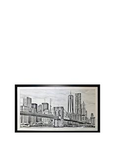 arthouse-brooklyn-bridge-framed-print