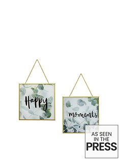 arthouse-happy-moments-hanging-prints--nbsp-set-of-2nbsp