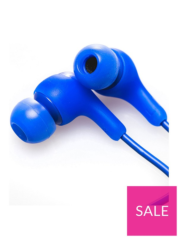 86a65f313b6 JVC Gumy In-ear Wireless Bluetooth Headphones with Microphone and Remote -  Blue | very.co.uk
