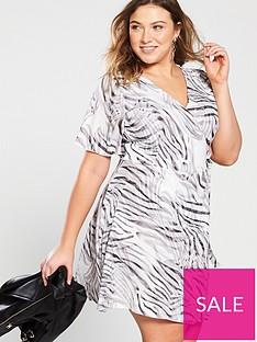 girls-on-film-curve-shirt-wrap-dress--nbspzebra-print