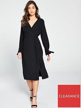 river-island-wrap-midi-dress-black