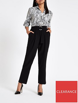 ri-petite-ri-petite-ring-detail-tapered-trouser-black