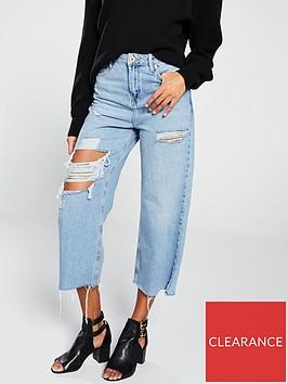 river-island-river-island-distressed-wide-leg-jeans-light-blue