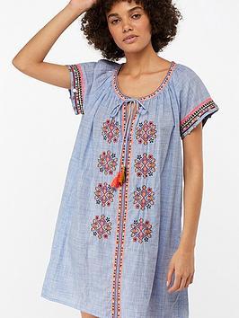 monsoon-jasmin-embroidered-coin-beach-dress-blue