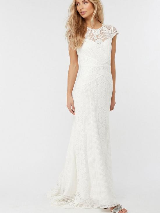 Meghan Geo Lace Wedding Dress