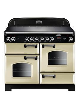 rangemaster-cla110eccr-classic-deluxe-110cmnbspwide-electric-range-cooker-with-ceramic-hob-cream