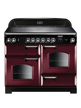 rangemaster-cla110eccy-classic-deluxe-110cmnbspwide-electric-range-cooker-with-ceramic-hob-cranberry