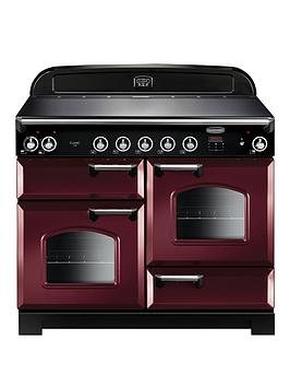 rangemaster-cla110eicy-classic-110cm-electric-range-cooker-with-induction-hob-cranberry