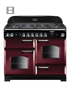 rangemaster-cla110dffcy-classic-110cmnbspwide-dual-fuel-range-cooker-cranberry
