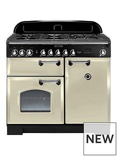 rangemaster-cdl100dffcr-classic-deluxe-100cmnbspwide-dual-fuel-range-cooker-cream
