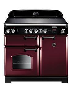 rangemaster-cla100eccy-classic-100cmnbspwide-electric-range-cooker-cranberry