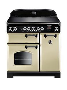 rangemaster-cla90eicr-classic-90cmnbspwide-electric-range-cooker-with-induction-hob-cream