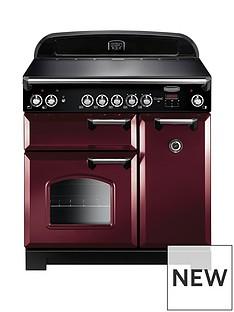 rangemaster-cla90eccy-classic-90cmnbspwide-electric-range-cooker-cranberry