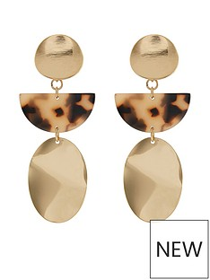 monsoon-monsoon-sabine-statement-tort-resin-gold-earrings