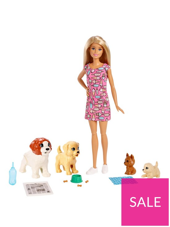 43b262b4a2 Barbie Doggy Daycare Potty Trainer Playset | very.co.uk