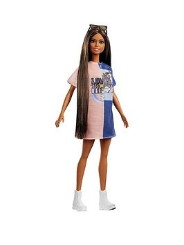 barbie-2-tone-graphic-dress-fashionista