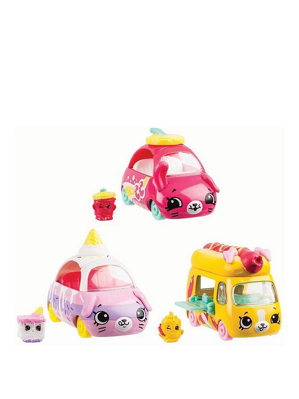Shopkins Cutie Cars 3 Pack Movie Collection Very Co Uk