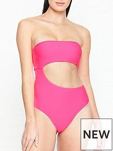 frankies-bikinis-carter-cut-out-neon-swimsuit-pink