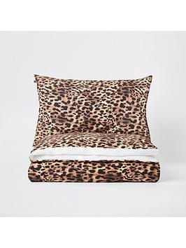 river-island-photographic-leopard-print-duvet-cover-set