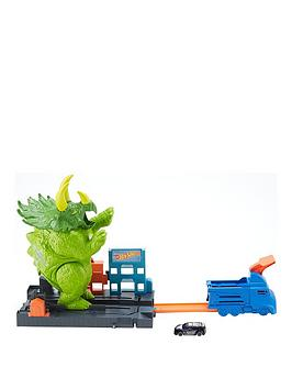 hot-wheels-triceratops-play-set-launcher-toy-carsnbsptrack-set