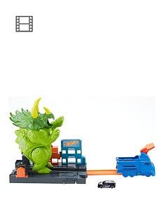 hot-wheels-triceratops-play-set-launcher-vehicle-giant-dinosaur-nemesis