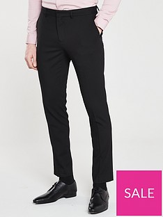 river-island-smart-skinny-black-trousers