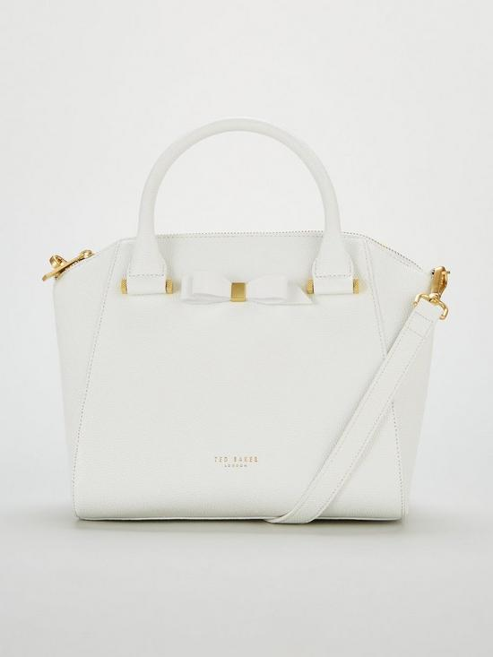 61b4f266e Ted Baker Janne Bow Detail Tote Bag - White