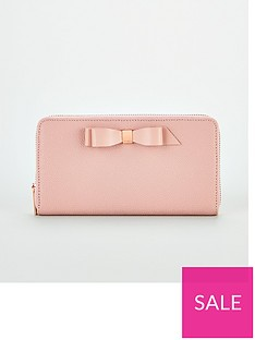 ted-baker-aine-bow-zip-around-matinee-purse-pale-pink