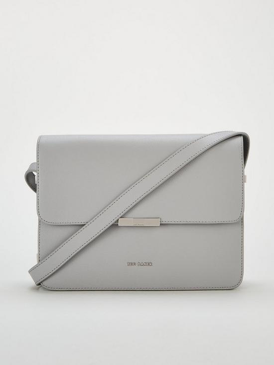 c65a16650 Ted Baker Jiliann Bow Adjustable Handle Shoulder Bag - Grey