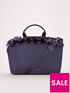 ted-baker-roseiee-rufflenbsp-shoulder-large-tote-bag-navy