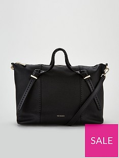 dc07a43faf6 Ted Baker Oellie Knotted Handle Large Tote Bag - Black