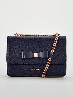 ted-baker-jayllaa-bow-detail-chain-crossbody-bag-navy