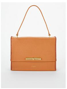 ted-baker-chita-concertina-stitch-detail-shoulder-bag-tan