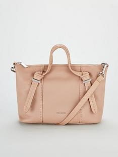 7ea871530ceea0 Ted Baker Olmia Knotted Handle Small Tote Bag - Taupe