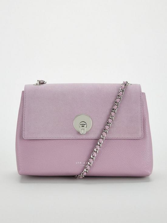 34742c945 Ted Baker Sylvana Circle Lock Cross Body Bag - Light Purple