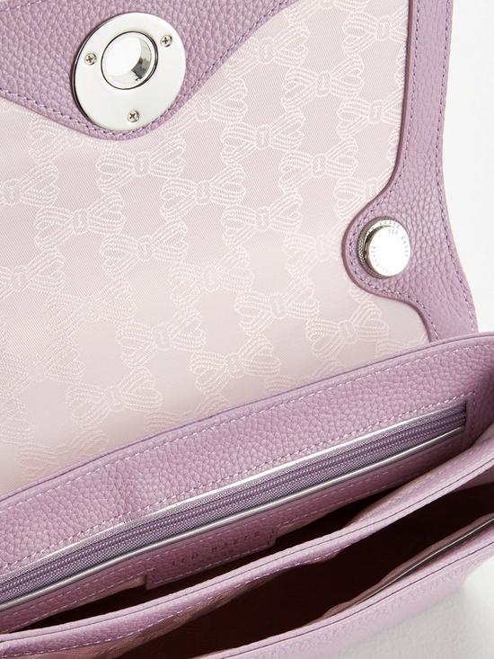 112aa4789 ... Ted Baker Sylvana Circle Lock Cross Body Bag - Light Purple. View larger
