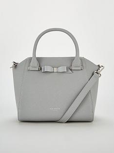 ted-baker-janne-bow-detail-zip-tote-grey