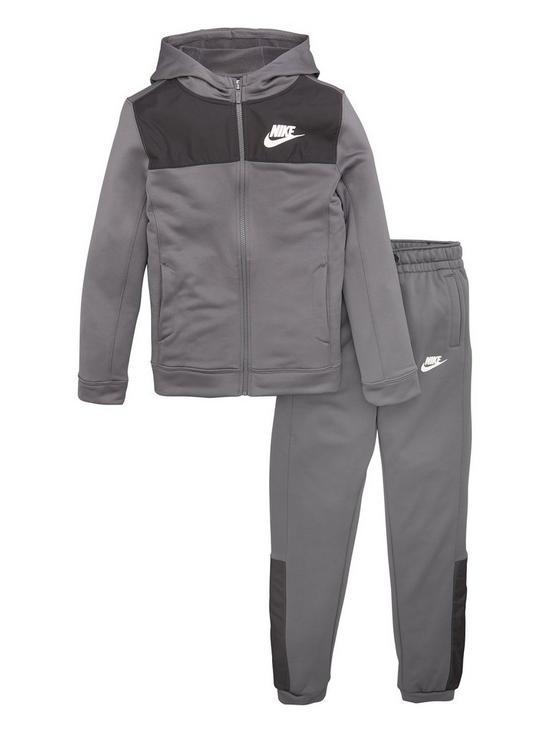 f0a0594d3 Nike Boys Hybrid Tracksuit - Dark Grey   very.co.uk
