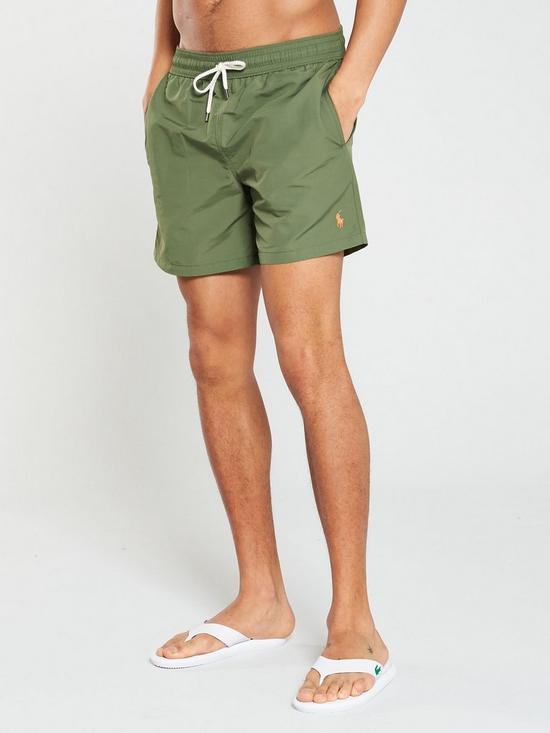 c10f692d0c Polo Ralph Lauren Traveller Swim Shorts - Olive | very.co.uk