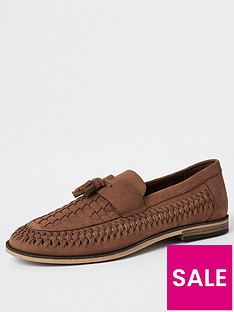 river-island-light-tan-nubuck-hurrache