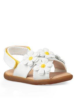 ugg-infant-girls-allairey-sandals-white