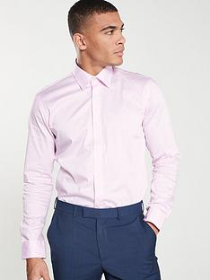 ted-baker-dobby-twill-endurance-shirt-pink