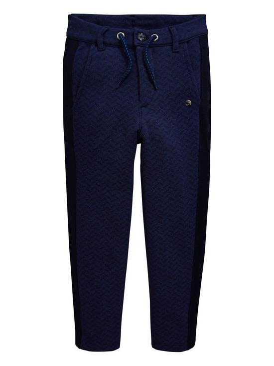 485f3fb3eb21 Baker by Ted Baker Boys Jersey Printed Chinos - Navy