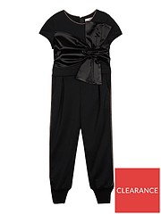 35e23aa51d7b Baker by Ted Baker Girls Bow Detail Jumpsuit