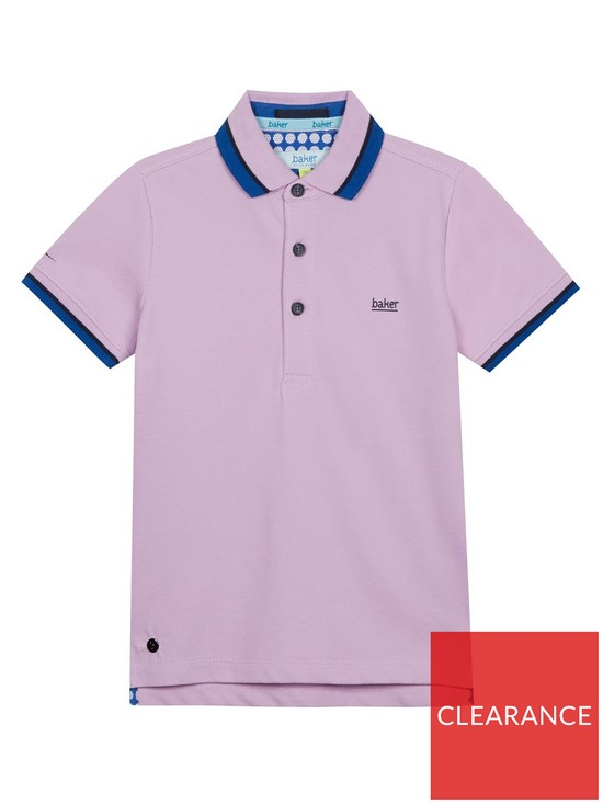 1000d97f8837 Baker by Ted Baker Boys Icon Polo