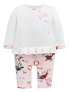 78b1c327b2774 Baker by Ted Baker Baby Girls Mockable Romper - Off White